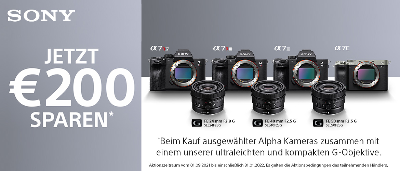 Sony Alpha Kombi-Rabatt